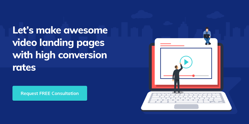 Contact Giant Panda Studio to develop a result-driven video landing page